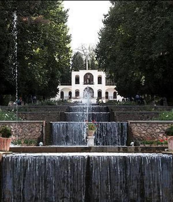 معماری حواس در باغ ايرانى